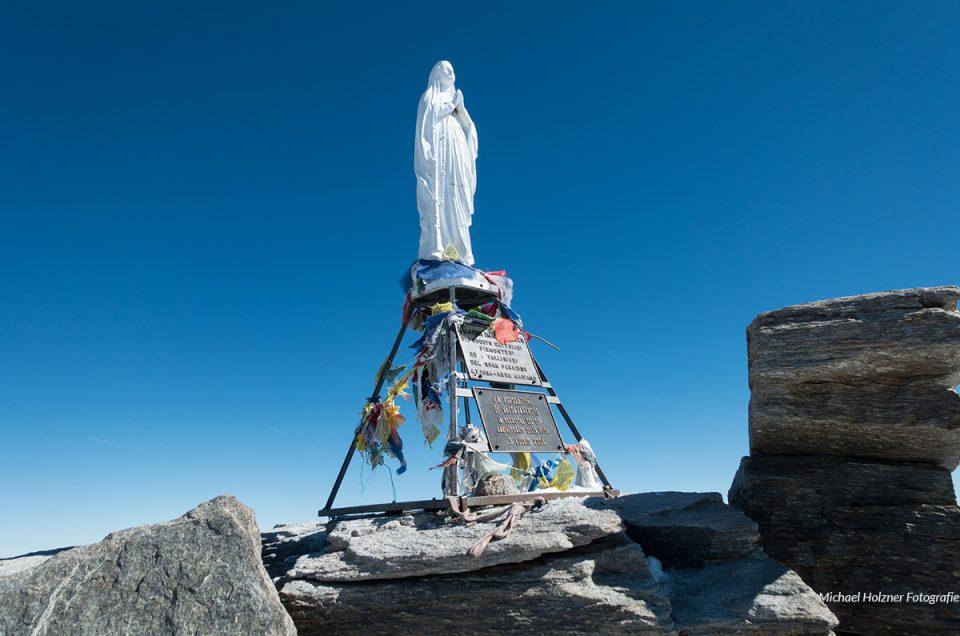 Hochtouren vom Gran Paradiso zum Monte Rosa