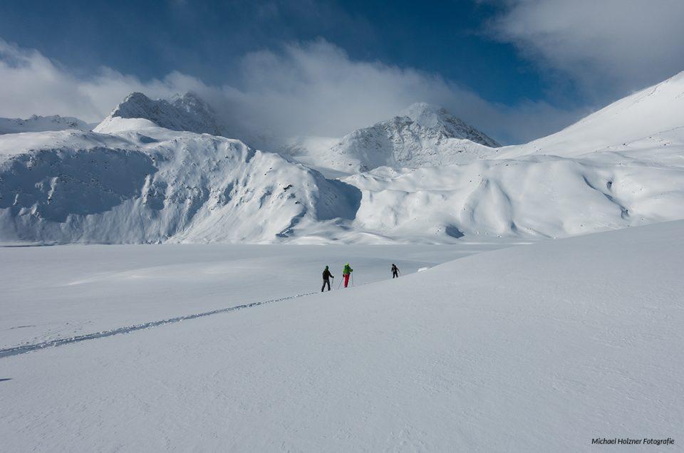 Skitour zwischen Gletscher und Fjorden in den Lyngen- Alpen / Norwegen