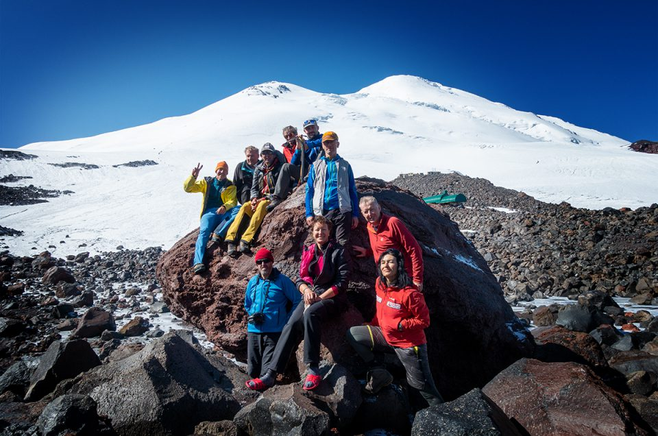 Elbrus Nordroute  5642m
