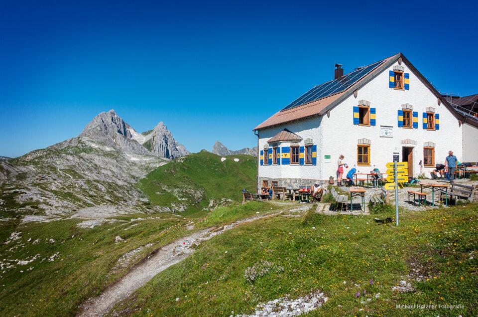 Leutkircher Hütte / Lechtaler Alpen