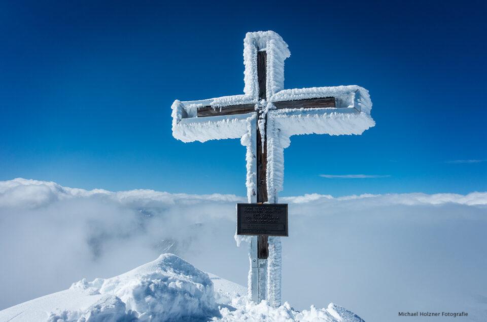 Gipfelkreuz am Großvenediger 3660m