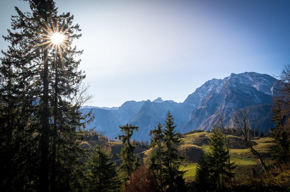 Herbst in den Berchtesgadener Alpen