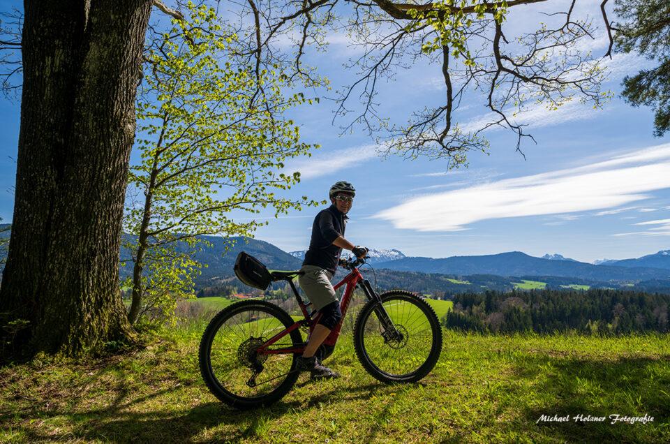 Mountainbike Tour in Chiemgauer Alpen
