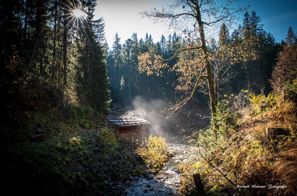 Herbstwanderung im Chiemgau