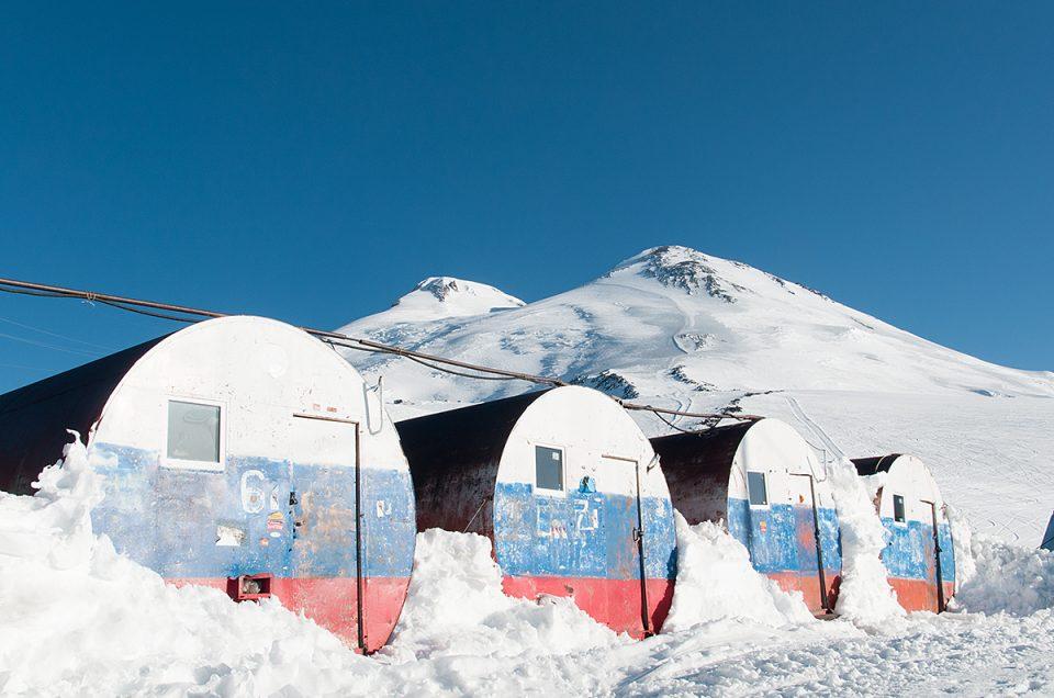 Skitour zum Elbrus – Auf das Dach Europas (5642m)