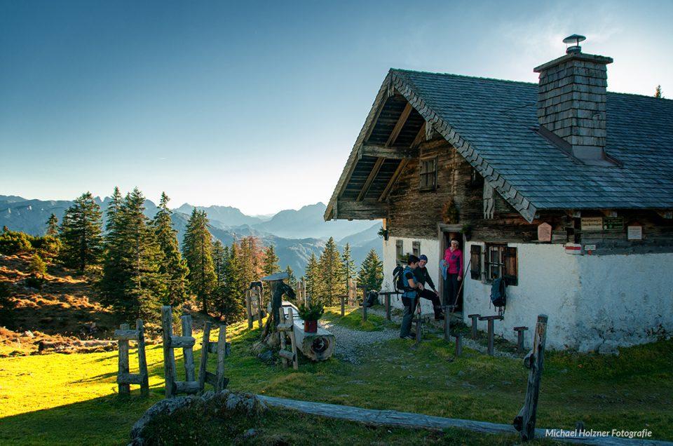 Wanderung zur Kohleralm (Chiemgau)