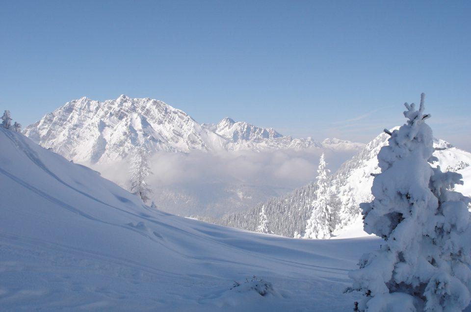 Skitour in den Berchtesgadener Alpen